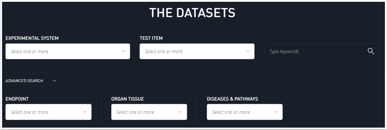 search-datasets